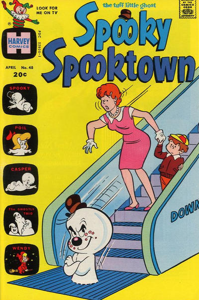 Cover for Spooky Spooktown (Harvey, 1961 series) #48