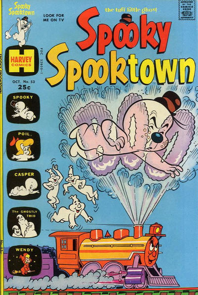 Cover for Spooky Spooktown (Harvey, 1961 series) #53