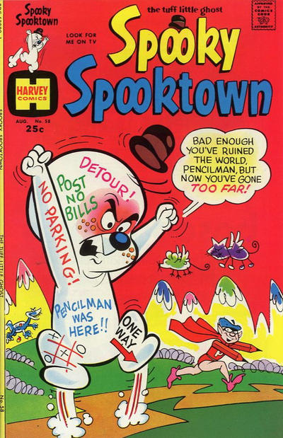 Cover for Spooky Spooktown (Harvey, 1961 series) #58