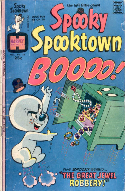 Cover for Spooky Spooktown (Harvey, 1961 series) #59