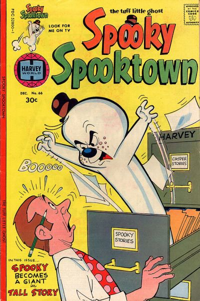 Cover for Spooky Spooktown (Harvey, 1961 series) #66