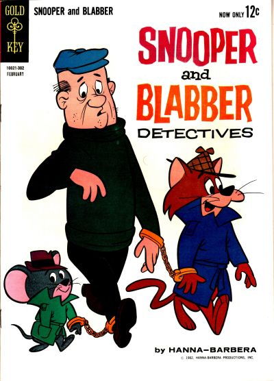 Cover for Snooper and Blabber, Detectives (Western, 1962 series) #2