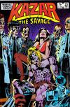 Cover for Ka-Zar the Savage (Marvel, 1981 series) #23