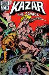 Cover for Ka-Zar the Savage (Marvel, 1981 series) #24