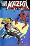 Cover for Ka-Zar the Savage (Marvel, 1981 series) #25