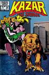 Cover for Ka-Zar the Savage (Marvel, 1981 series) #26