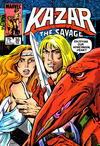 Cover for Ka-Zar the Savage (Marvel, 1981 series) #30