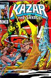 Cover for Ka-Zar the Savage (Marvel, 1981 series) #31