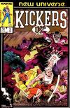 Cover for Kickers, Inc. (Marvel, 1986 series) #3 [Direct]