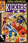 Cover for Kickers, Inc. (Marvel, 1986 series) #5 [Direct Edition]