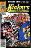 Cover Thumbnail for Kickers, Inc. (1986 series) #8 [Newsstand Edition]