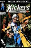Cover for Kickers, Inc. (Marvel, 1986 series) #10 [Direct]