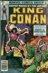 Cover for King Conan (Marvel, 1980 series) #4 [Newsstand Edition]