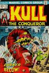 Cover for Kull the Conqueror (Marvel, 1971 series) #6
