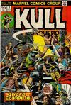 Cover for Kull the Conqueror (Marvel, 1971 series) #9 [Regular Edition]