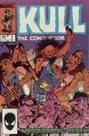 Cover for Kull the Conqueror (Marvel, 1983 series) #7 [Direct Edition]