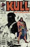 Cover Thumbnail for Kull the Conqueror (1983 series) #8 [Newsstand Edition]