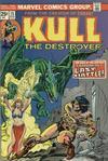 Cover for Kull the Destroyer (Marvel, 1973 series) #15