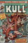Cover for Kull the Destroyer (Marvel, 1973 series) #17