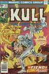 Cover for Kull the Destroyer (Marvel, 1973 series) #19