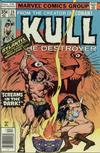 Cover for Kull the Destroyer (Marvel, 1973 series) #24