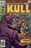 Cover for Kull the Destroyer (Marvel, 1973 series) #25