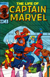 Cover for The Life of Captain Marvel (Marvel, 1985 series) #4