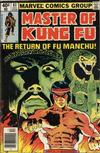 Cover Thumbnail for Master of Kung Fu (1974 series) #83 [Newsstand]