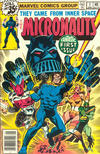 Cover for Micronauts (Marvel, 1979 series) #1