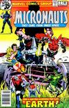 Cover for Micronauts (Marvel, 1979 series) #2 [Newsstand]