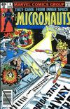 Cover for Micronauts (Marvel, 1979 series) #6 [Direct]