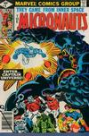 Cover for Micronauts (Marvel, 1979 series) #8 [Direct]