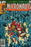 Cover for Micronauts (Marvel, 1979 series) #9 [Newsstand]