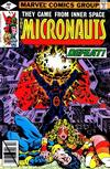 Cover for Micronauts (Marvel, 1979 series) #10 [Direct]