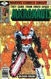 Cover for Micronauts (Marvel, 1979 series) #12 [Direct]