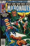 Cover for Micronauts (Marvel, 1979 series) #16 [Newsstand]
