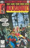 Cover for Micronauts (Marvel, 1979 series) #18 [Direct]
