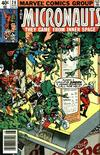 Cover for Micronauts (Marvel, 1979 series) #20 [Newsstand]