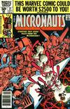 Cover for Micronauts (Marvel, 1979 series) #21 [Newsstand]