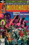 Cover for Micronauts (Marvel, 1979 series) #23 [Direct]