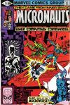 Cover for Micronauts (Marvel, 1979 series) #24 [Direct]