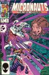 Cover for Micronauts (Marvel, 1984 series) #4 [Direct]