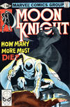 Cover for Moon Knight (Marvel, 1980 series) #2 [Direct]