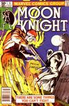 Cover for Moon Knight (Marvel, 1980 series) #5 [Newsstand]