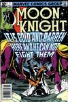 Cover for Moon Knight (Marvel, 1980 series) #7 [Newsstand]