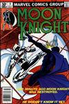Cover for Moon Knight (Marvel, 1980 series) #9 [Newsstand]