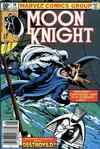 Cover for Moon Knight (Marvel, 1980 series) #10 [Newsstand]