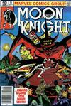 Cover for Moon Knight (Marvel, 1980 series) #11 [Newsstand]
