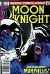 Cover Thumbnail for Moon Knight (1980 series) #12 [Newsstand]