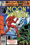 Cover for Moon Knight (Marvel, 1980 series) #13 [Newsstand]